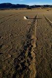 Climate change, global warming: Dry salt lake Stock Images
