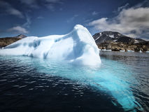 Climate change. Ice melt near North pole due to the climate change royalty free stock photos