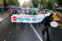 Climate Change Protest Royalty Free Stock Images