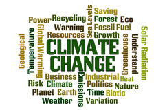 Climate Change Royalty Free Stock Image