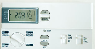 Climate Control Stock Photography