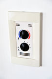 Climate control panel Royalty Free Stock Image
