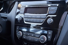 Climate control and play car Royalty Free Stock Image