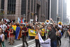 Climate March NYC 2014 Royalty Free Stock Photography