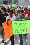 Climate March NYC 2014 Stock Image
