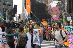 Climate March NYC 2014 Royalty Free Stock Photo