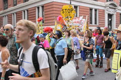 Climate March NYC 2014 Royalty Free Stock Images