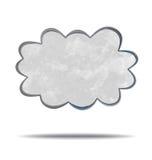climate nuage gris illustration libre de droits
