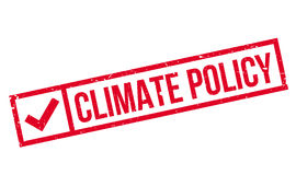 Climate Policy rubber stamp Stock Images