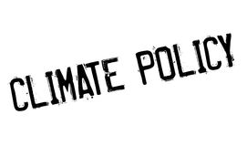 Climate Policy rubber stamp Stock Image