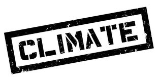 Climate rubber stamp Stock Photography