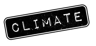 Climate rubber stamp Stock Image