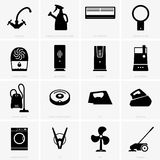 Climatic and cleaning appliances. Available in high-resolution and several sizes to fit the needs of your project Stock Photo