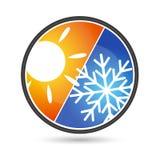 Climatisation de conception Photos stock