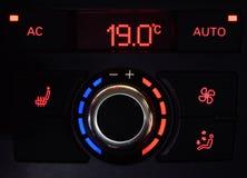 Climatisation de voiture photographie stock libre de droits