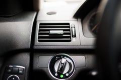 Climatisation de voiture et système de ventilation modernes Images libres de droits