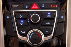 Climatiseur automatique de voiture Images libres de droits