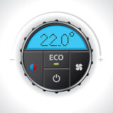 Climatronic gauge design Stock Images