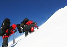 The climb Royalty Free Stock Photography