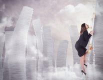 Climb the bureaucracy Royalty Free Stock Photography