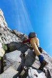 Climb Stock Photo