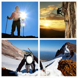 Climb Royalty Free Stock Images