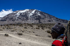 Climb Kilimanjaro Royalty Free Stock Photo