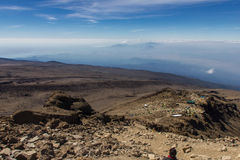 Climb Mount Kilimanjaro Royalty Free Stock Photography