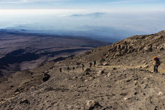 Climb Mount Kilimanjaro Stock Images