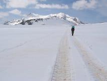Climb on the Oshten. Climb on the mt.Oshten in Caucasus mountains royalty free stock images