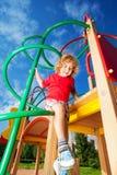 Climb and slide Stock Photos