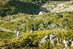 Climb to the refuge koca Royalty Free Stock Photo
