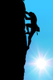 Climber Royalty Free Stock Photo
