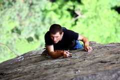 A climber Royalty Free Stock Images