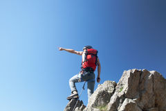 Climber Royalty Free Stock Images