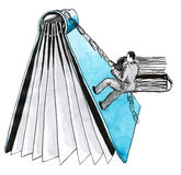 climber stock illustratie