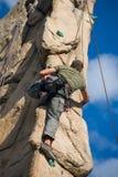Climber Royalty Free Stock Photography