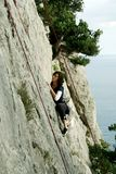 Climber. royalty free stock images