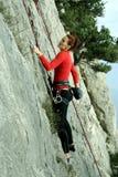 Climber. stock images