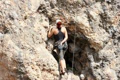 Climber. royalty free stock image