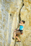 Climber in Crimea 2 Stock Photos