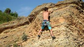 Climber stock video