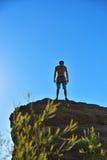 Climber man Royalty Free Stock Photography