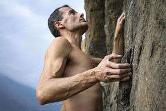 Climber royalty free stock photography