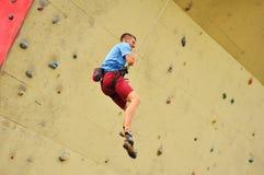 Climber man Stock Image
