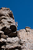 Climber Near The Top Stock Photography