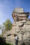 Climber's rock Stock Photos