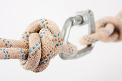 Climber's rope Royalty Free Stock Photography