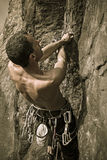 Climber vintage Royalty Free Stock Images