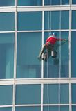 Climber - window cleaner Stock Photos
